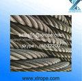 anti-torsión cable de acero