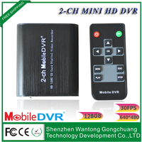 2-channel hd car DVR image files on the SD card can be stored in the computer