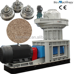 Brand Vertical Ring Die Wood Pellet Machine with Auto Lubrication System
