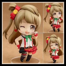 Japanese Love Live character lovely pvc minami kotori figurine factory