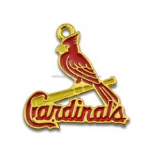 Popular MLB Team Logo Charms Enamel St. Louis Cardinals Baseball Charms