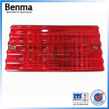 China manufacturer export cheap GS125 motorcycle parts, abs motorcycle tail light