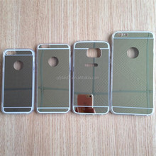 TPU electroplating Mirror Phone case