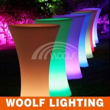 best sale super bright led round party tables