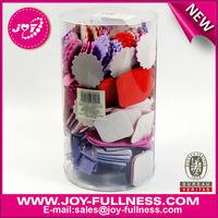 Heart & flower shaped EVA Foam Sticker bucket for children
