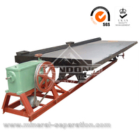Chrome ore concentrator shaking table