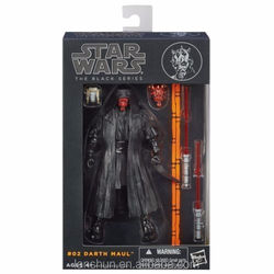 """HOT Star wars the Black Series #02 Darth Maul 6"""" Action Figure New in Box"""