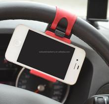 Hot Universal Car Steering Wheel Mobile Phone Holder, Socket Holder for Mobile Cell Phone GPS