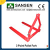 3 point Pallet Forks bale move 1500 bls tractor implements tractor attachments