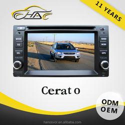 Wholesale 2 Din Auto Radio Car DVD For Cerato Audio GPS Navigation System