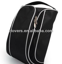 cheap price black hotsale golf shoe bag nylon