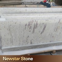 US standard polished new river white granite price