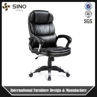 China PU leather upholstered executive style Swivel Office recliner chair