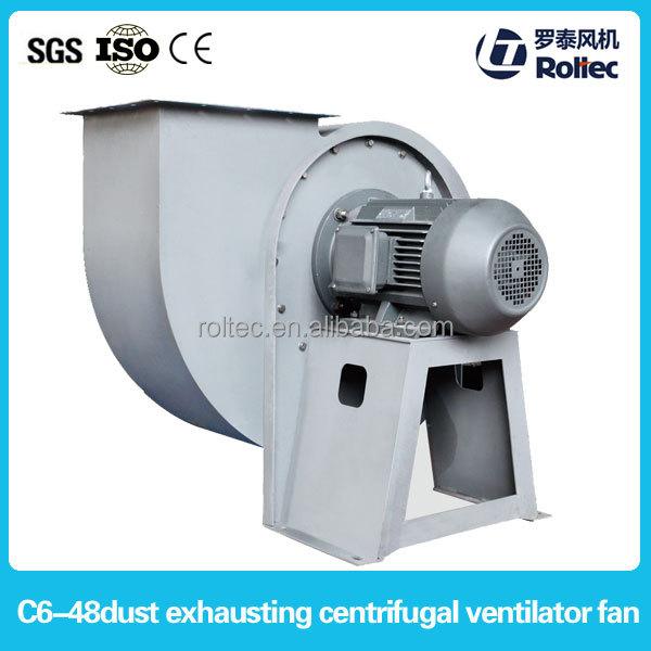 Santrifüj fan c6-48 fan ısıtıcı, dökme demir fiyatları, hava ventilatör yüksek performanslı