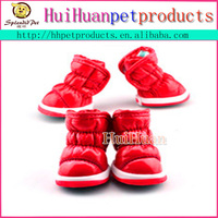 Wholesale Indoor Dog Pet Fabric Shoes