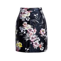 Wholesale latest design sexy tight mini skirt