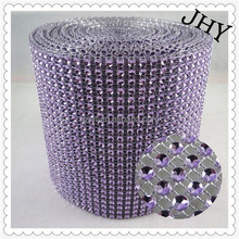 Rhinestone Diamond Ribbon 24 Rows Diamond