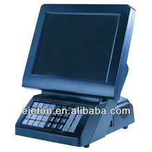 "15"" retail or restanrant pos system with keyboard"