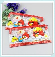 Hot selling cartoon PVC pen bag/PVC pencil bag/ PVC zipper pouch