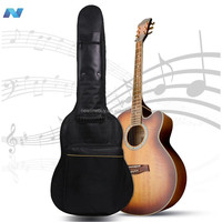 FULL SIZE PADDED Classical Acoustic Guitar Back Shoulder Protect Carry Case Bag