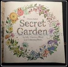 Customized Design 2015 Hot Selling Secret Garden Book Printing