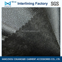 qualified fusible polyester garment nonwoven interfacing fabric with SGS