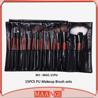 MAANGE directly professional 15 pcs artist brush set with PU bag