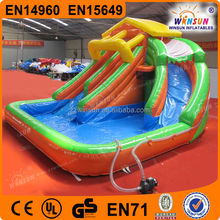 Trade Assurance Best Selling whosale popular Inflatable Bouncy Castle With Water Slide