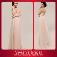 Elegant Beaded Sweetheart Chiffon Evening Dresses Online Shopping ED16
