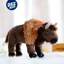 "Buffalo Douglas Cuddle Toys Plush Bison 9"" Stuffed Animal"