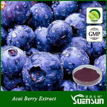 health food 100% natural fruit extract acai berry powder