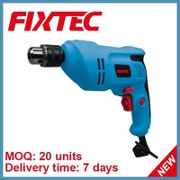 FIXTEC electric hand drill machine 500W 10mm mini electric hand drill for sale