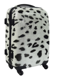 abs pc luggage ABS PC animal printing luggage shanghai factory trolley luggage