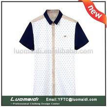 Coreano equipado de última moda casual hombres camisas de jean. venta al por mayor para hombre de la camisa de mezclilla