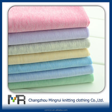 40s 100 cotton single jersey knitted Elastane fabric