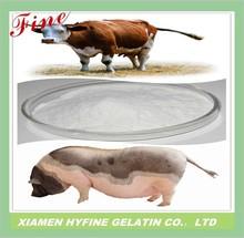 Halal gelatin edible animal glue beef skin protein