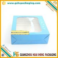 elegant cardboard bra packing box with PVC window
