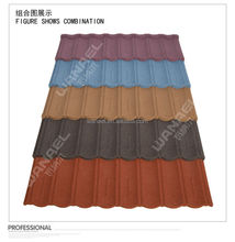 China stone coated metal roof tile,light weight than ceramic roof tile,waterproof material