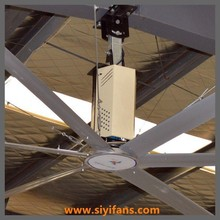 24ft Strong Wind High Efficient Industrial Ceiling Fan with 6 Aluminum Blades