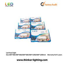 Cheap price super slim 2835SMD round/square led panel 6W