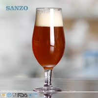 SANZO High Ball Hot Sale Novelty Beer Glass with Gold Logo
