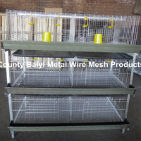 Battery Cages For Broiler Chicken