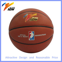 Hot selling size 7 laminated basketball