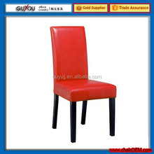 Y 5991 European Style Modern PU Surface Wood Dining Chair China Supplier