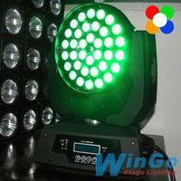 36pcs led moving head stage light / sound system for disco / led moving head for stage performance