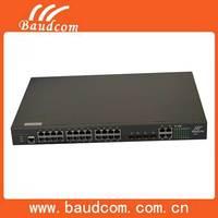 Industrial 24 port POE Ethernet SFP Network Switch