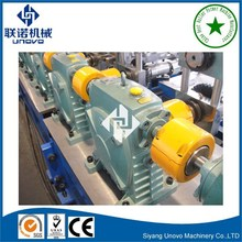 roll forming machine of hat channel used for photovoltaic solar structure