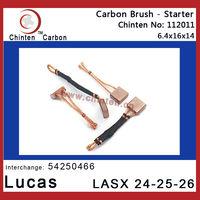 Lucas auto spare parts - carbon brush LASX 24-25-26(brush size 6.4x16x14)