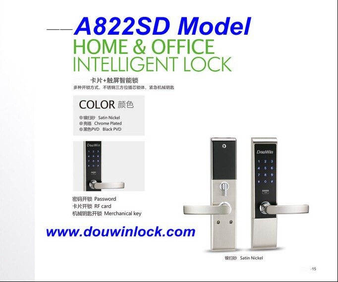 touch digital keypad door lock for access control system. Black Bedroom Furniture Sets. Home Design Ideas