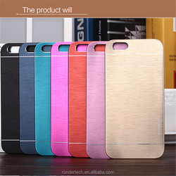 Luxury Aluminum Ultra-thin Case Cover for iphone6 6plus,Metal drawing cover for iphone6 6plus